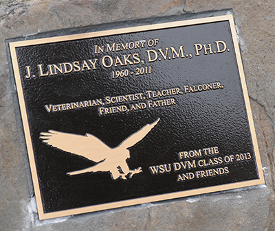 Dr. Oaks Memorial Plaque
