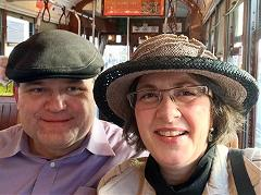 Susan Bradish ('97 DVM) with her husband Jim